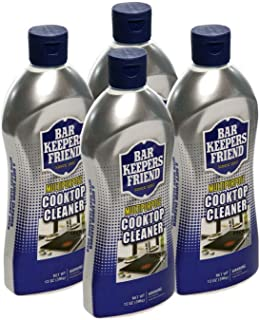 product image for Bar Keepers Friend Multipurpose Cooktop Cleaner (13 oz) - Liquid Stovetop Cleanser - Safe for Use on Glass Ceramic Cooking Surfaces, Copper, Brass, Chrome, and Stainless Steel and Porcelain Sinks(4)