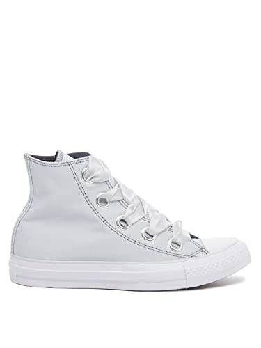 a664ebaaefa Converse Big Eyelets Hi Women s Shoes Pure Platinum Light Carbon 559918c  (9.5 B(