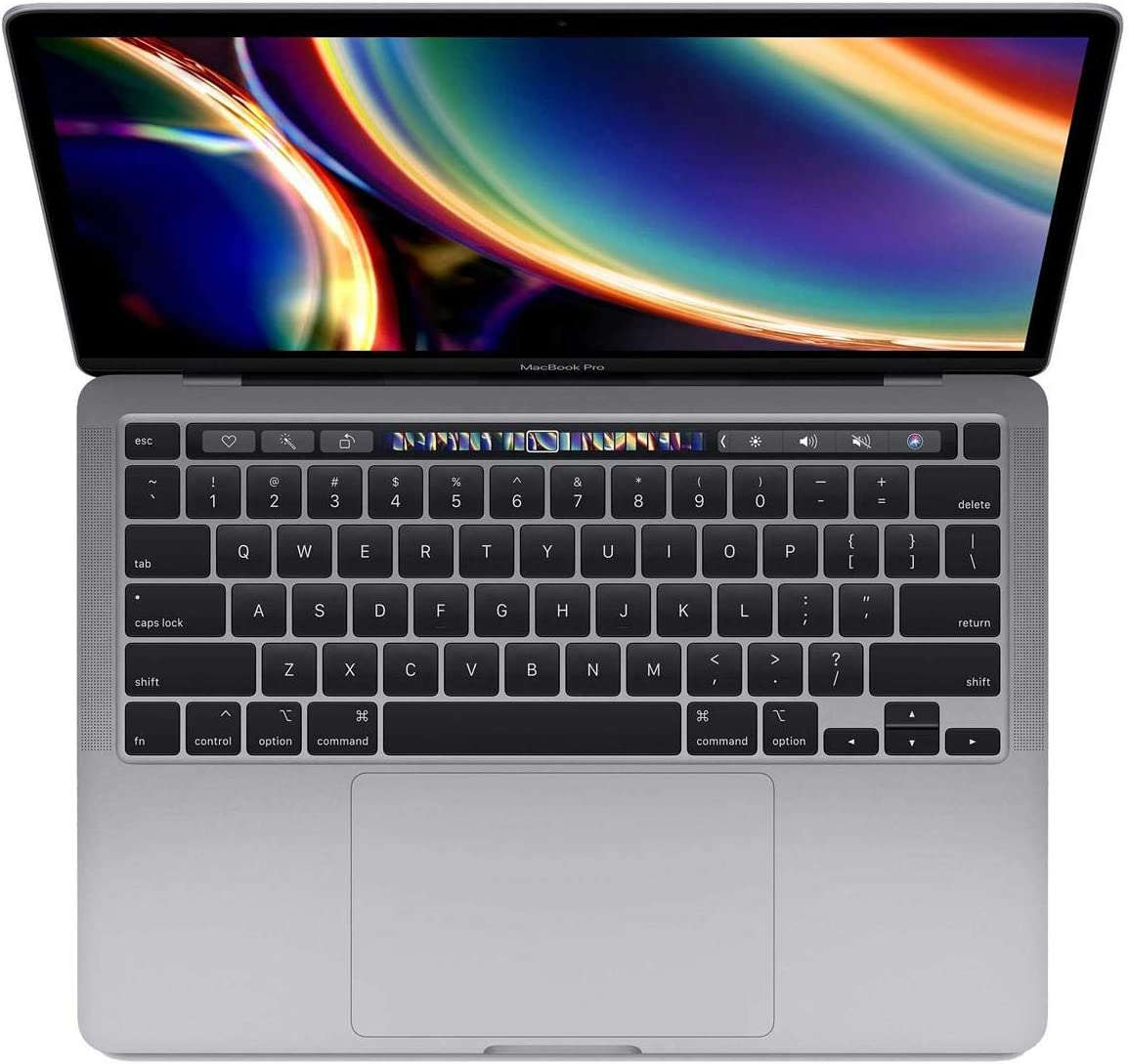 "Apple 13"" MacBook Pro with Touch Bar, 8th-Gen Quad-Core Intel Core i7 1.7GHz, 16GB RAM, 256GB SSD, Space Gray (Mid 2020)"
