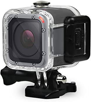 GoPro Dive Housing Case for GoPro Hero 5 Session Waterproof Diving Protective Shell 45m with Bracket Accessories for Go Pro Hero5 Session & Hero Session