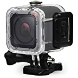 FitStill 60M Dive Housing Case for GoPro Hero 5 Session Waterproof Diving Protective Shell with Bracket Accessories for…