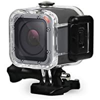 FitStill Dive Housing Case for GoPro Hero 5 Session Waterproof Diving Protective Shell 45m with Bracket Accessories for Go Pro Hero5 Session & Hero Session