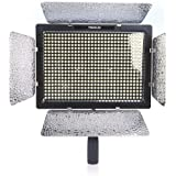 Yongnuo_ YN-600 LED Studio Video Light Lamp With Adapter for Canon Nikon DSLR Camera Camcorder 3200K-5500K Dual Color Temperature