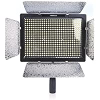 YONGNUO YN022 Yn-600l LED Studio Video Light Lamp with Adapter for Canon Nikon DSLR