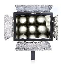 YONGNUO YN022 Yn-600l LED Studio Video Light Lamp with Adapter for Canon Nikon DSLR