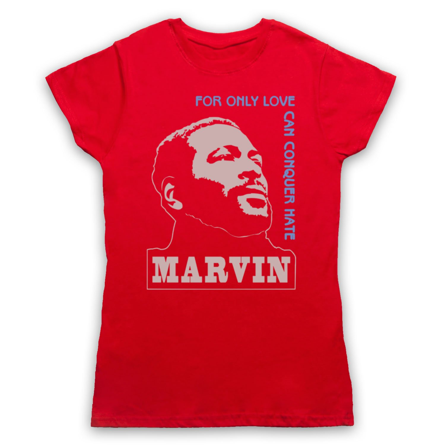 Inspiriert durch Marvin Gaye What's Going On Unofficial Damen T-Shirt:  Amazon.de: Bekleidung