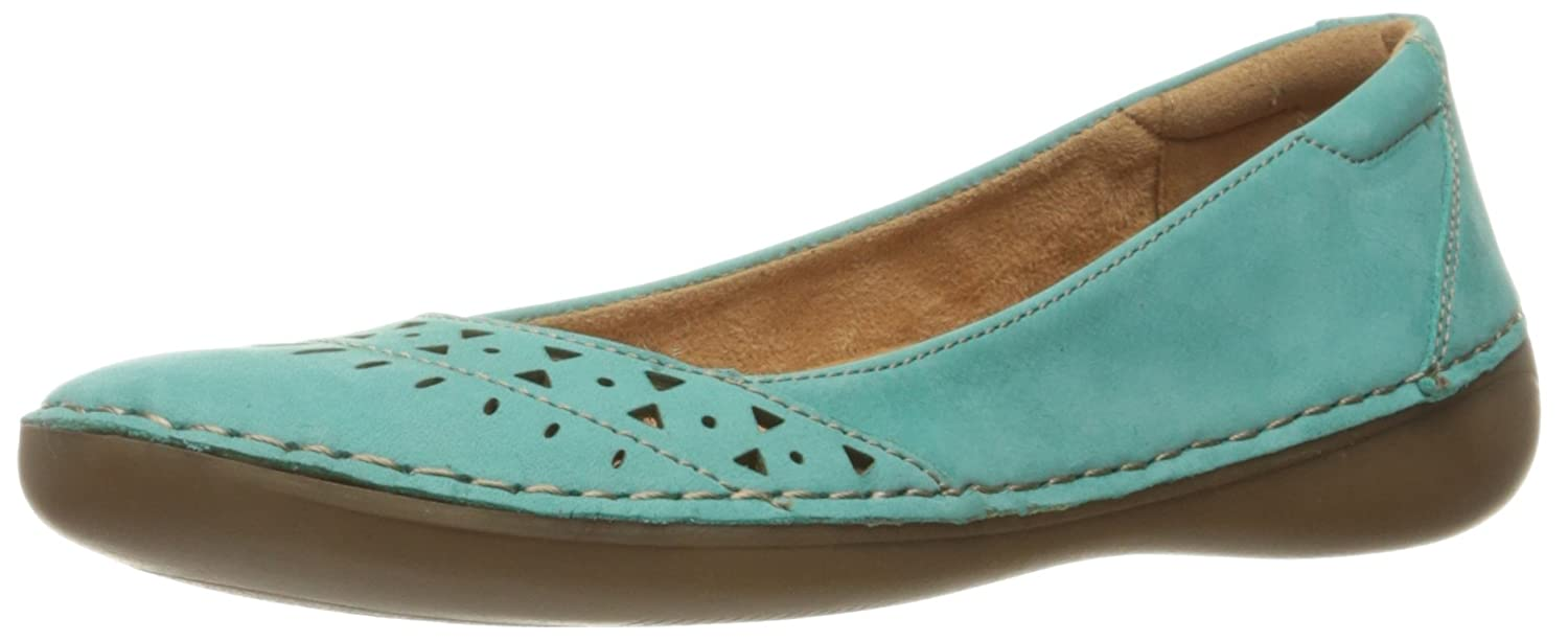 Womens Shoes Naturalizer Kyndell Sailboat Turquoise Nubuck