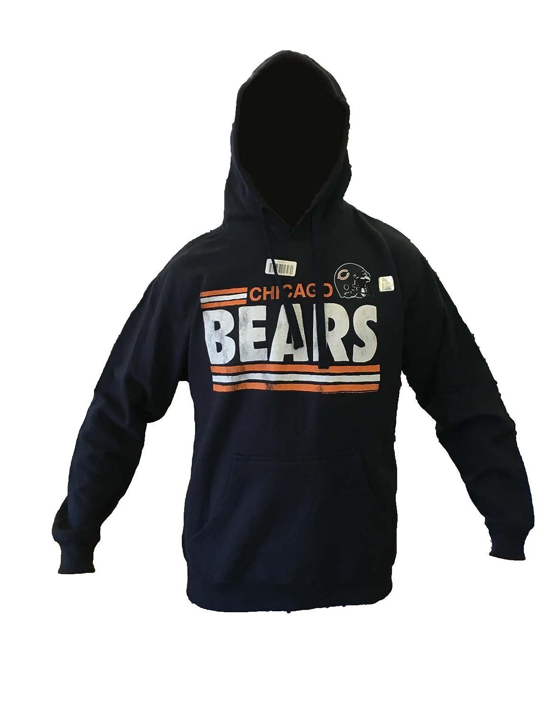 e482e86d Amazon.com: Chicago Bears Hoodie, Navy, L: Clothing