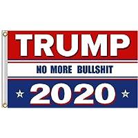 President Trump Flag,ADSRO 3x5 Feet Garden Banner Trump maintains The US Flag Printing Flag and Grommet for President 2020