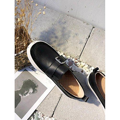 Athlétique Ceinture de Respirantes Plateformes Métal Fitness black KJJDE de Femme Sneakers en A1419 Boucle WSXY Running à Accessoires Chaussures f6zHqwS