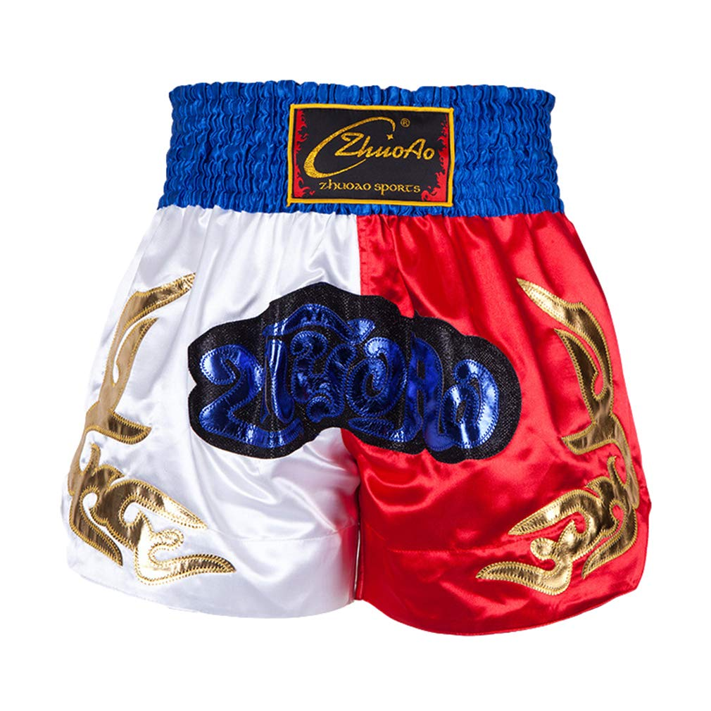 Pantaloncini da Combattimento per La Boxe Muay Thai MMA Allenamento per La Lotta con La Gabbia E Pantaloncini da Combattimento Professionali Mix Martial Arts Cage Pantaloncini