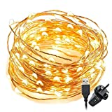 BIG HOUSE 10M Fairy Lights, Copper, Warm, 1
