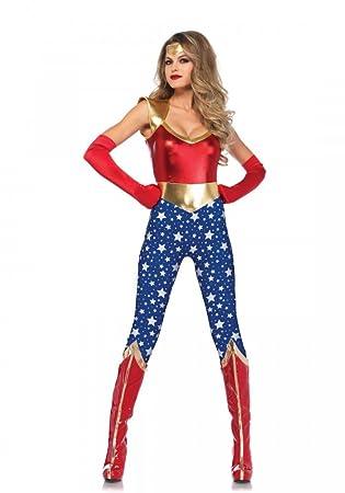 Sensational Super Hero Damen Kostum Von Leg Avenue Superheldin
