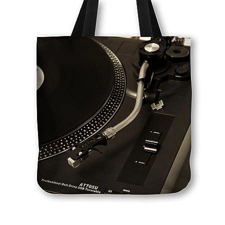 Bolso de mano bolso DJ giradiscos Tocadiscos - diseño de ...