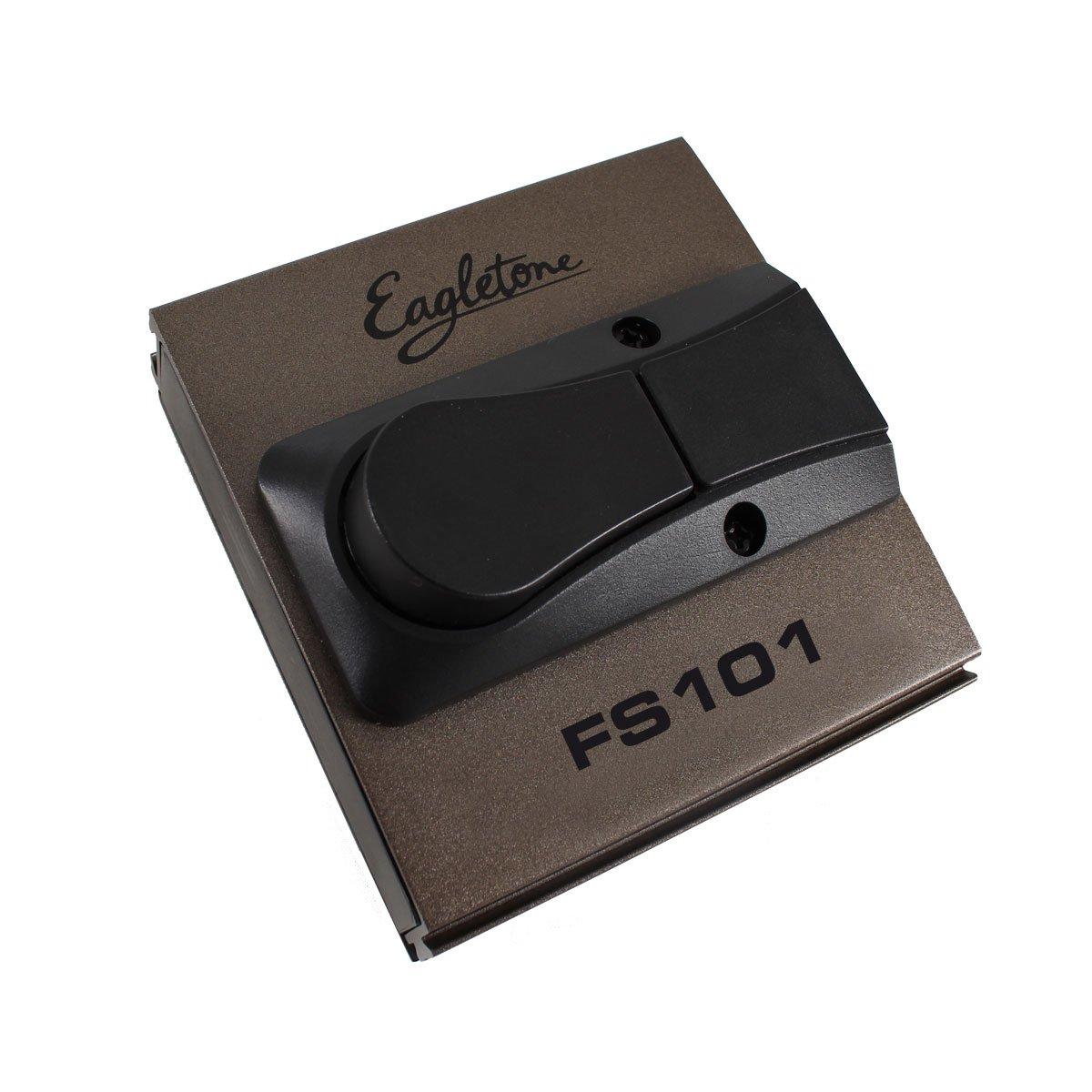 Eagletone FS101Pedale Footswitch Nero FS101 - LATCH