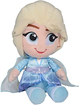 Disney Frozen 2 Peluche Elsa 30cm: Amazon.es: Juguetes y juegos