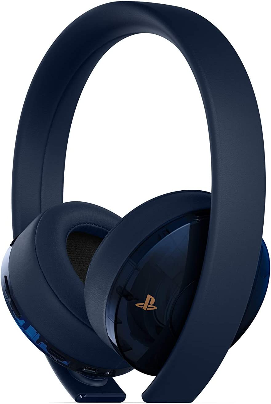 Amazon.com  PlayStation Gold Wireless Headset 500 Million Limited ... 0f35d38d55