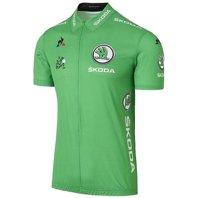 Maillot Le Coq Sportif Tour de Francia Verde 2017: Amazon.es: Ropa ...
