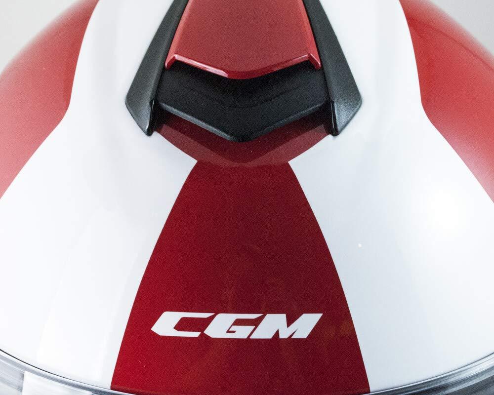 M CGM Casco modulare apribile P//J 508S BERLINO RACE Blu satinato