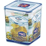 Lock & Lock Square Storage Container, 2.6 L - Clear/Blue