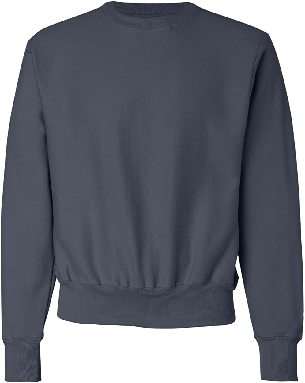 Champion Men's Men' Reverse Weave Fleece Crew Navy