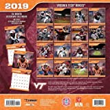 Virginia Tech Hokies 2019 Calendar