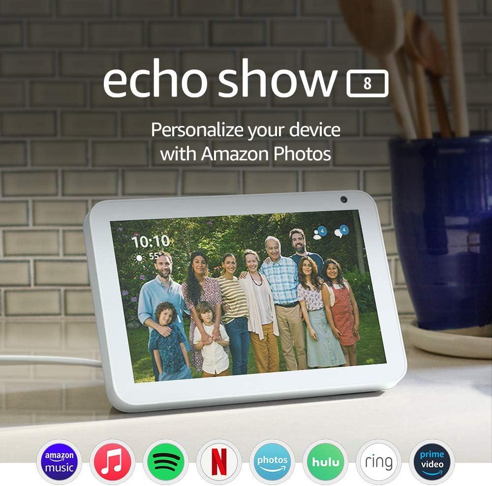 Amazon HD smart display Echo Show 8 $109.99 Coupon