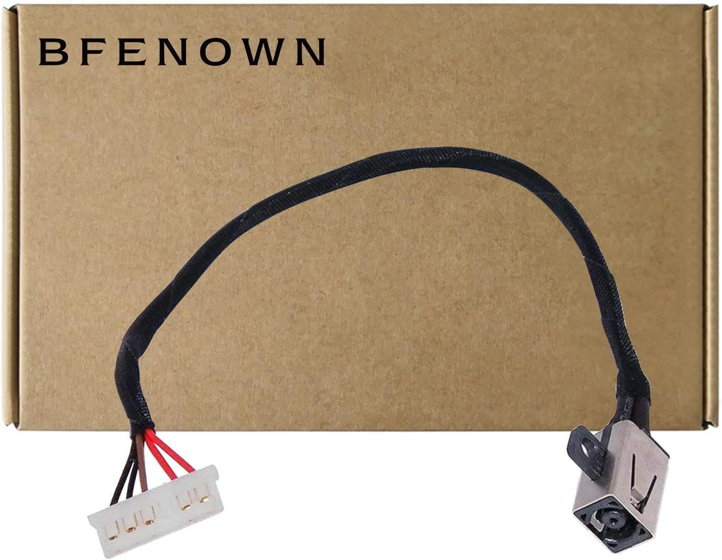 Bfenown DC Power Jack Harness Cable Replacement for Dell Inspiron 3452 3459 14-3451 14-3452 14-3458 14-5455 14-5458 15-3551 15-3552 15-3558 15-5000 15-5555 15-5558 Ryx4j