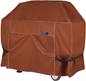 NettyPro BBQ Grill Cover 52 Inch Waterproof Heavy Duty Outdoor Barbecue Covers for Most Brands of Grill, Brown