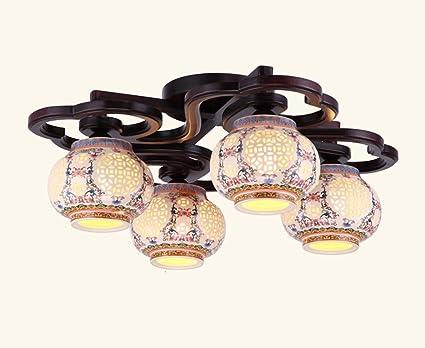 LFFLAMP HJHY® Techo, Simplicidad Moderna Lámparas Chinas ...