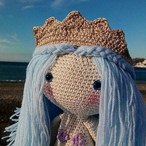 Sirena amigurumi, sirena de peluche, 100% algodón: Amazon.es: Handmade