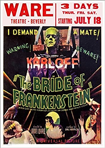 The Bride Of Frankenstein' (1935) - (1) A4 Glossy Art Print