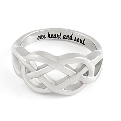 Infinity Ring For Girlfriend Or Boyfriend Promise Ring Infinity