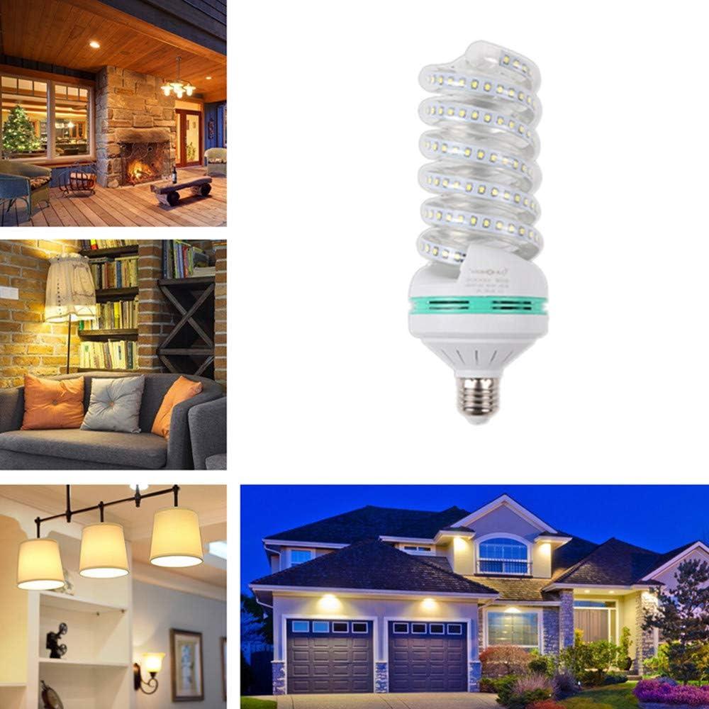 OUYAWEI LED Highlight Spiral Corn Bulb 85-265V E27 Warm Light 24W