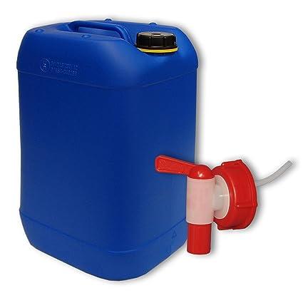 Beliebt 20 Liter Wasserkanister Kanister Wasserbehälter blau + AFT Hahn DE53