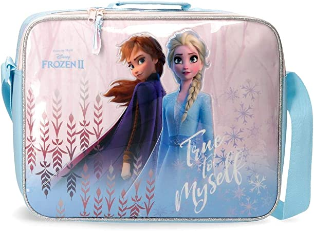 Disney Cartera Escolar Frozen True to Myself: Amazon.es: Equipaje