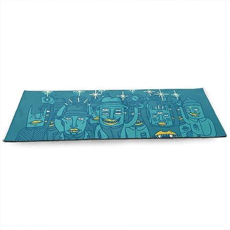 Amazon.com : Foster The People Yoga Mat Eco Friendly Non ...