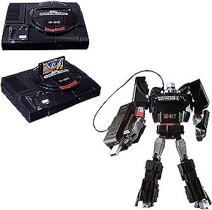 INSTEN TakaraTomy Sega Genesis Megatron Transformers Action Figure