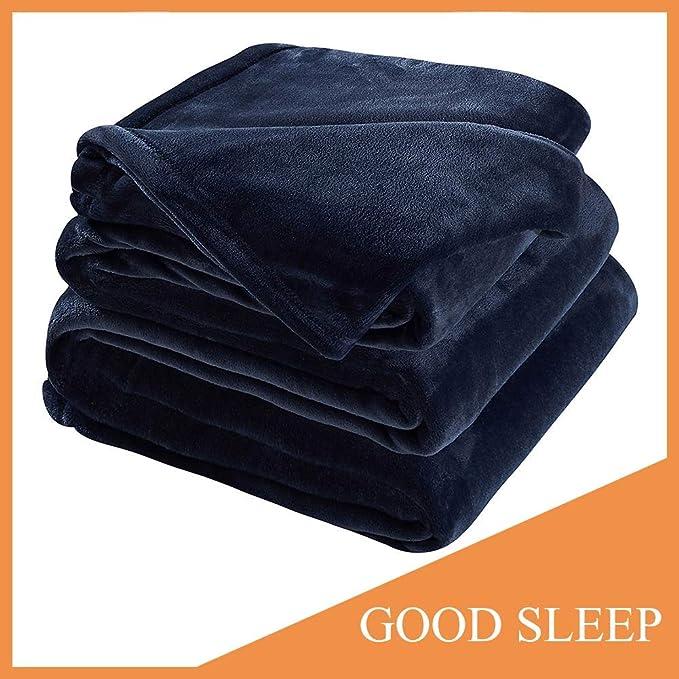 Sonoro Kate Fleece Blanket Soft Warm Fuzzy Plush - Versatile and Lightweight