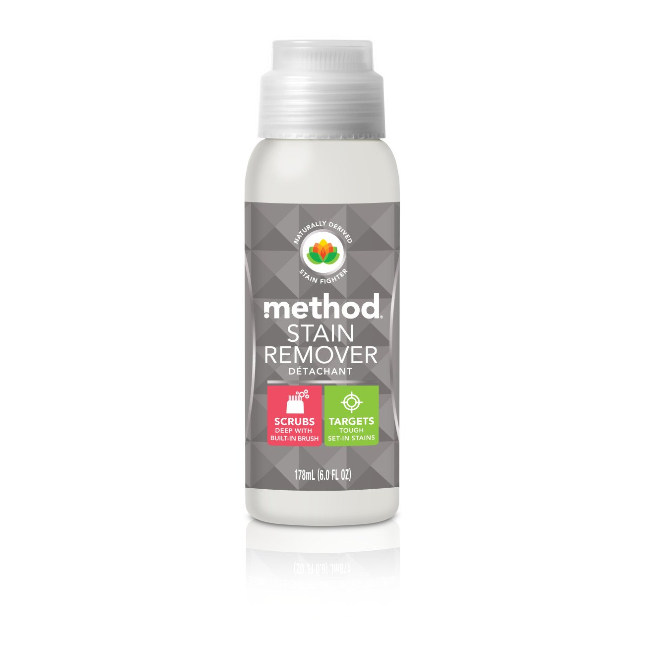 Method Stain Remover, Free + Clear, 6 Ounce (Pack of 9)