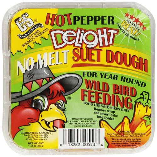 C & S Products Hot Pepper Delight 11.75 oz, 12-Piece by C & S ()