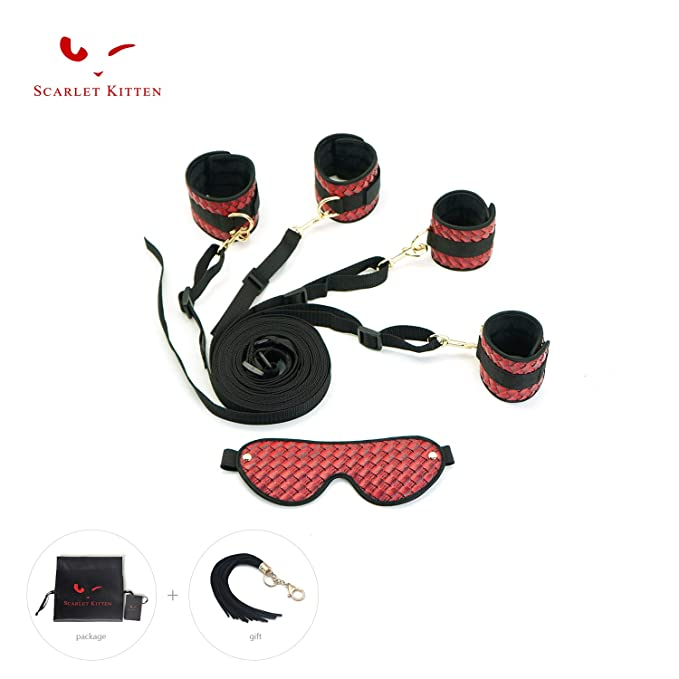 Amazon.com  SCARLET KITTEN Faux Leather Bed Kit Costume Accessory ...