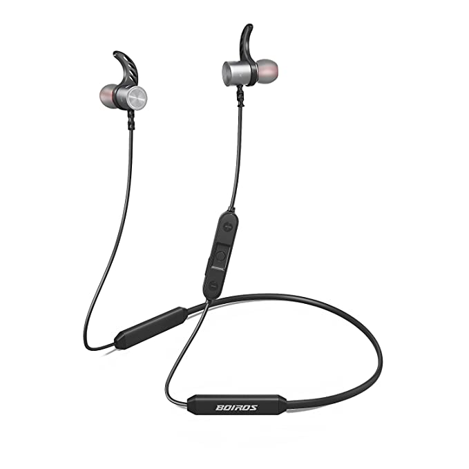 422fbfe12bd Bluetooth Headphones Sport, HIFI Stereo with Bass Wireless Earbuds with  Mic, Noise Cancelling,