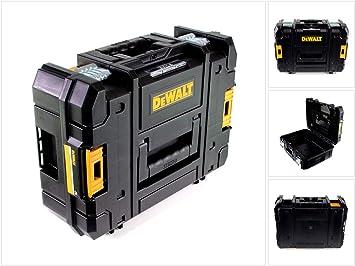 DEWALT DWST1-70703 TStak II - Caja de almacenamiento para herramientas (13,5 L, T-STAK), color negro: Amazon.es: Bricolaje y herramientas