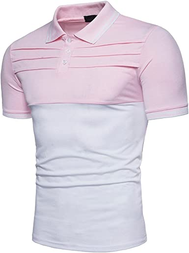 SFE Men Summer Shirts,Mens Casual Pure Color Personality V-Neck Short Sleeve T-Shirt Tops Fashuion!