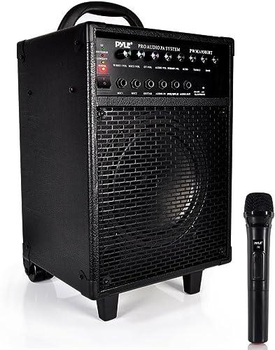 Wireless Portable PA Speaker System - 600W