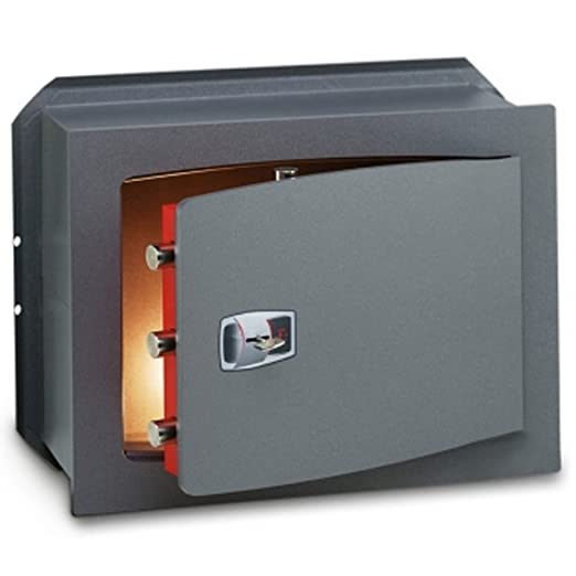 Technomax Caja Fuerte de Pared Integrado technofort Key con Llave ...