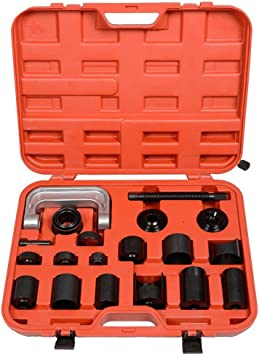 21PC C PRESS TRUCK CAR BALL JOINT NICE DELUXE SET SERVICE KIT REMOVER INSTALLER