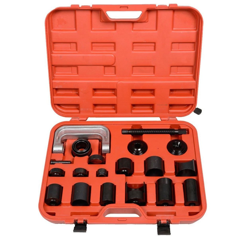 MILLION PARTS Universal 21pc Ball Joint Service Tool Set Auto Car Repair Press Remover Removal Separator Installing Installer Install and Master Adapter C-frame Kit for 2wd 4wd Vehicles by