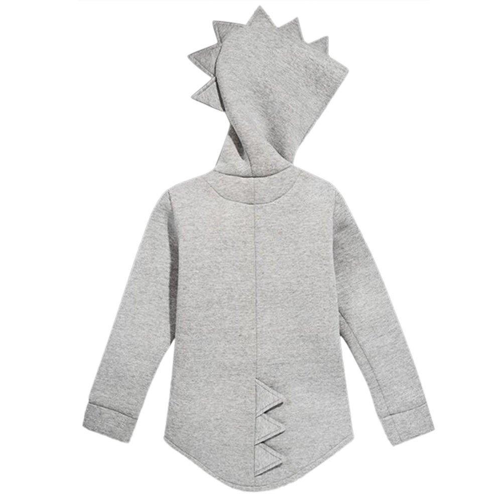 iZHH Kid Baby Outerwear Jacket Dinosaur Style Hooded Headwear Coat Clothes